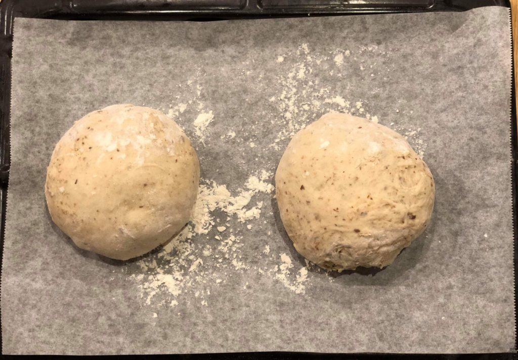 raidinbread-dough forming
